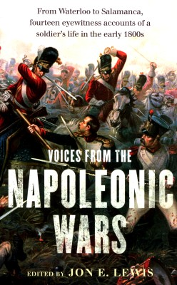 cover van 'Ed. by Jon E. Lewis | Voices from the Napoleonic w'