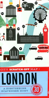 cover van 'Christina Henry de Tessan | City scratch-off map  '